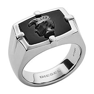Diesel Herren-Ringe Edelstahl mit '- Ringgröße 56 DX1175040-8