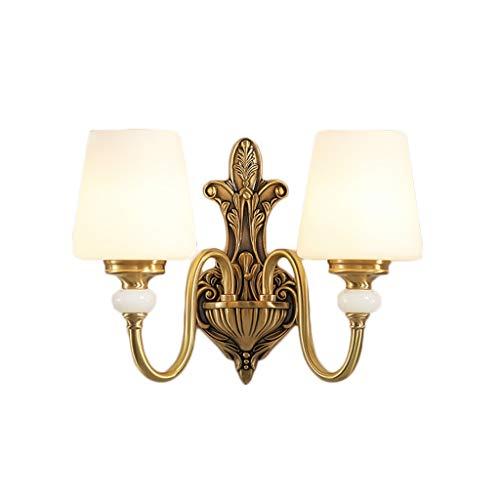 Cim wandlampen voor Europese wand, koper, 7 W, LED, driekleurig, wandlamp