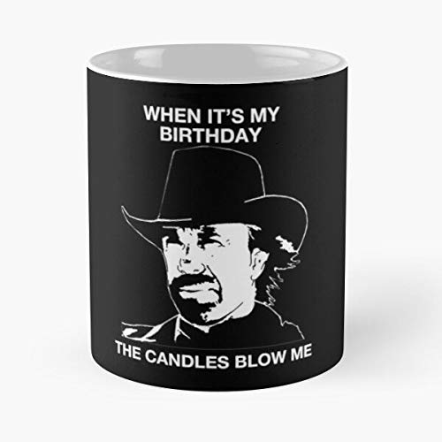 Chuck Norris Is Tough Funny Birthday Shirt Classic Mug Cool Holidays Gift For Coworkers, Men & Women, Him Or Her, Mom, Dad, Sister