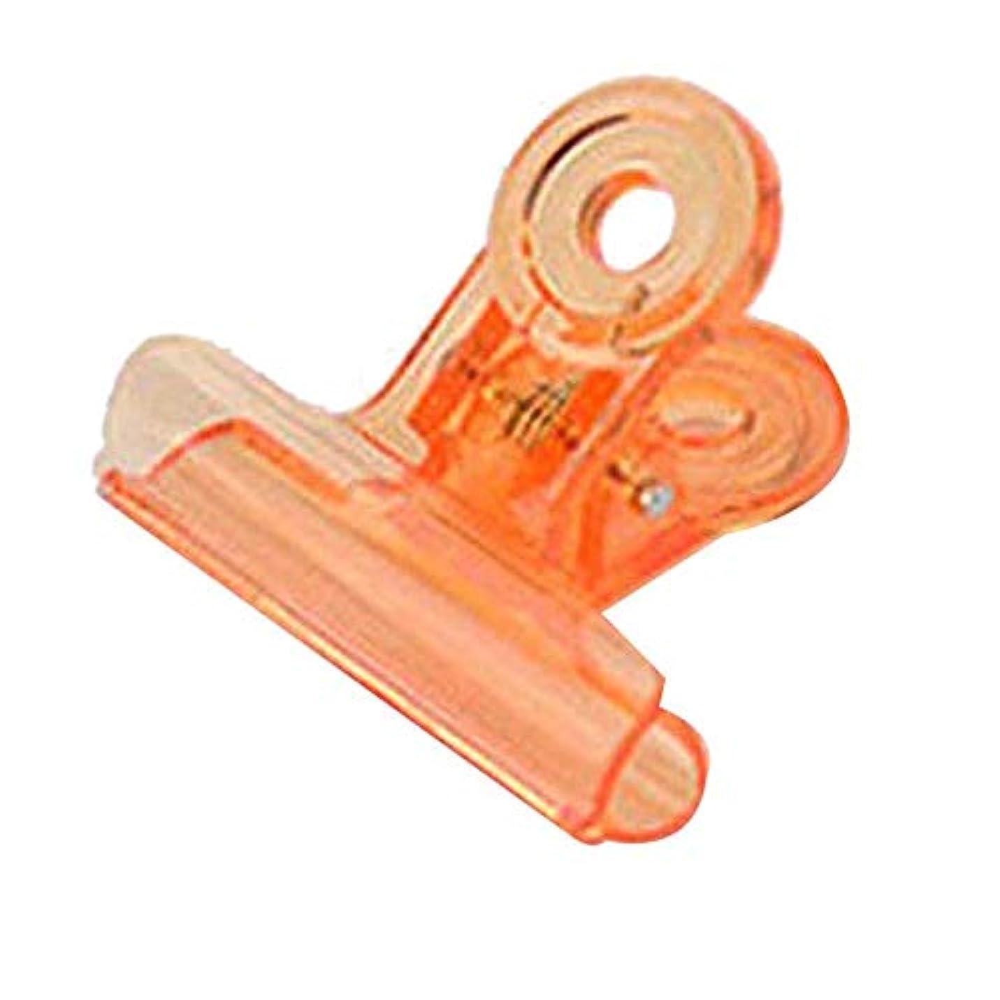 正しく失速プログラムSODIAL カーブネイルピンチクリップツール多機能プラスチック爪 ランダムカラー(オレンジ)