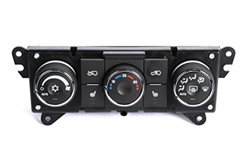 ACDelco GM Original Equipment 15-74104 Heating and Air Conditioning Control Panel with Driver and Passenger Seat Heater