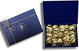 Queen & Bee 45% Dark Chocolate Almond Rock Gift Box ( 30 pcs, 360gm) (Diwali Gift Pack