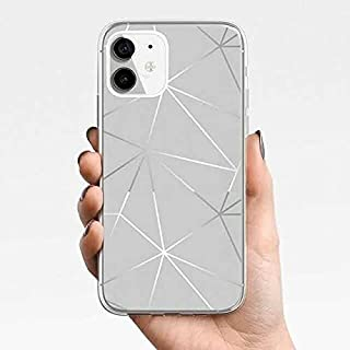 Silicone Mobile Phone Case For iPhone11, iPhone 11 Pro, iPhone11 Pro Max, iPhone12,iPhone12 Pro,iPhone12 Pro Max (Silver, ...