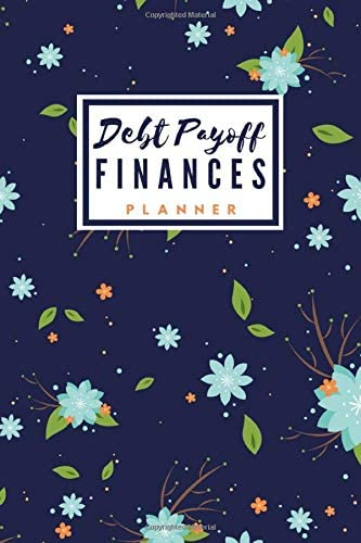Debt Payoff Finances Planner Undated Paying off debts Log book Personal Business debt loan Planner product image