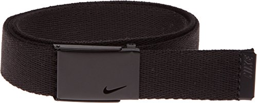 Nike Women's Tech Essentials Single Web Belt, Black, One Size