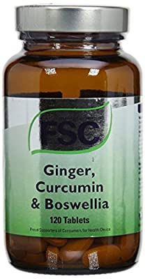 FSC Ginger Curcumin & Boswellia 120 Tablets from Fsc