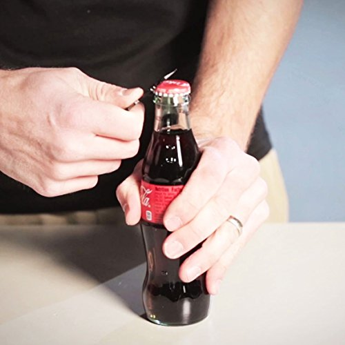 Product Image 1: SOG MacV Tool SM1001 – Hardcased Black, 12 Tools in One: Bottle Opener, Screwdrivers