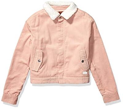 7 For All Mankind Girls' Big Jacket, Bomber Antique Pink, L