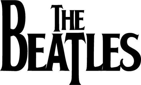 The Beatles Logo Musik Hochwertigen Auto-Autoaufkleber 12 x 8 cm