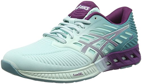 Asics Fuzex, Damen Laufschuhe, Blau (Blue/Purple), 39 EU (5.5 UK)