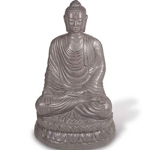 KOH DECO Statue Bouddha Assis 100 cm