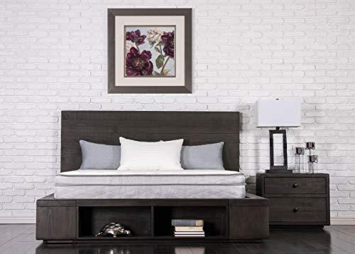 "Dreamfoam Bedding Doze 11"" Plush Pillow Top Mattress, King, Made in The USA"