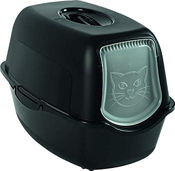 RHOTO Maison de Toilette Bailey pour Chat Noir Total