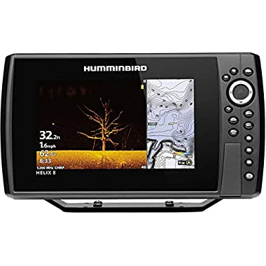 Humminbird 410850-1CHO Helix 9 G3N CHO Fish Finder with Chirp, MEGA DI, GPS, and 9-Inch-Display