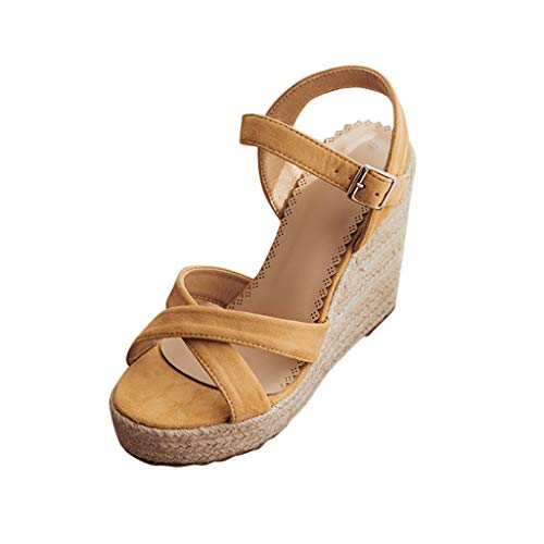 Best Prices! KCPer Espadrille Flatform Gladiator Sandal - Strappy Open Toe Platform Shoe Women Ladie...