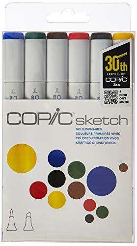 Copic Markers 6-Piece Sketch Set