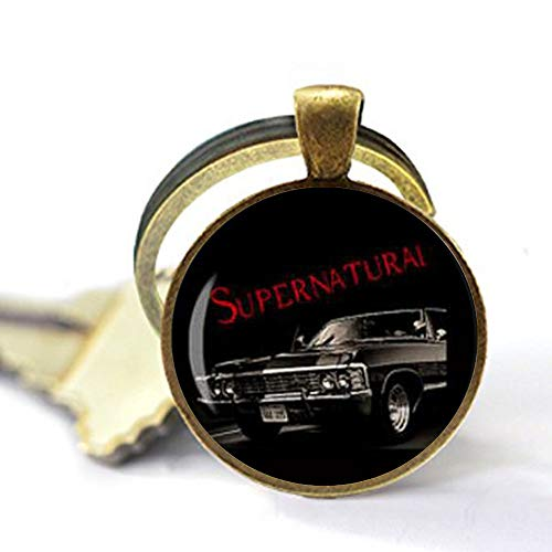 Supernatural Impala Supernatural Road so far Dean Winchester Auto Sam Schlüsselanhänger