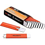 REXBETI Box Cutter, Retractable Handy Box Opener for Packages Papers and Boxes, 10 per Box, Orange