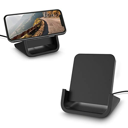 Wireless Charger YUWISS Wireless Charging Stand Cordless Charger Qi-Certified 10/7.5/5W