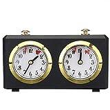 Delaspe Reloj de ajedrez profesional, temporizador de cuenta...