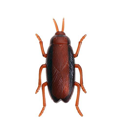 Hejiahuanle Mishead - Juguete electrónico para mascotas, juguete de simulación de insectos, gadget para mascotas, robot para incrustar a las escarabajos de la galleta