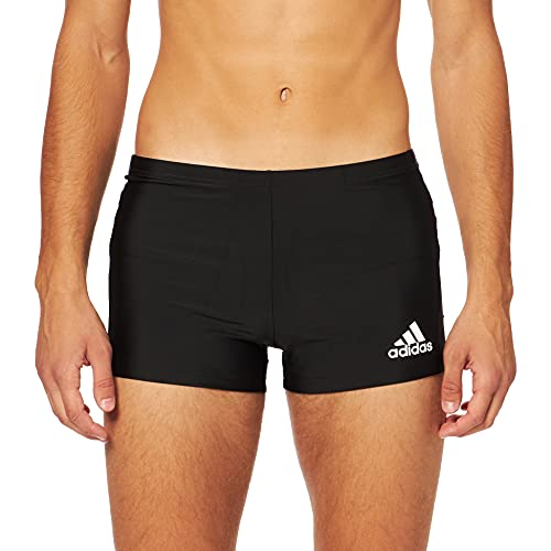 adidas FIT Taper BX Swimsuit, Black/Grey Six, S Mens
