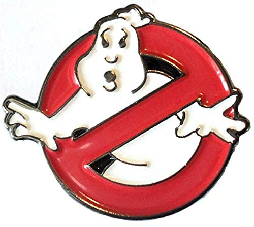Mainly Metal Ghostbusters-Anstecker, Metall, Emaille