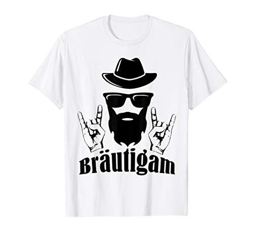 Herren Rockiges Junggesellenabschied Männer T Shirt im bearded Look T-Shirt