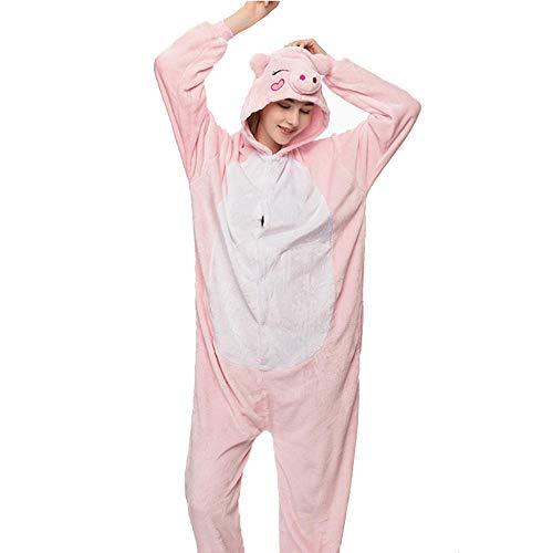 Meimie00 meisjespyjama voor volwassenen, uniseks, Anime Cosplay Onesies Pyjama Romper