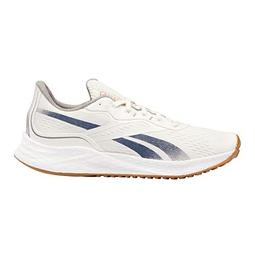 Reebok Men's Floatride Energy Grow Running Shoe - Color: Classic White/Brave Blue/Boulder Grey - Size: 10.5 - Width: Regular