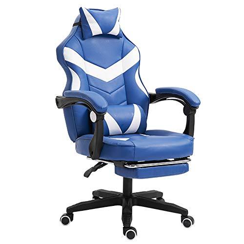 Yinglihua Game Chair Lederen bureaustoelen Game Chair High-backed stoel multifunctionele stoel hoogte kan worden aangepast bureaustoel