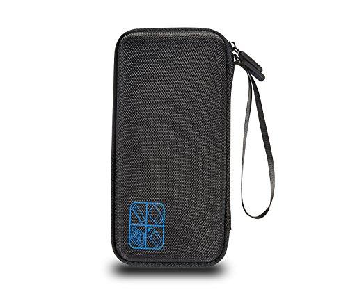 Supremery for Texas Instruments TI-84 CE Plus Graphing Calculator Hard Carrying Travel Storage Case Bag - Black/Blue Photo #2