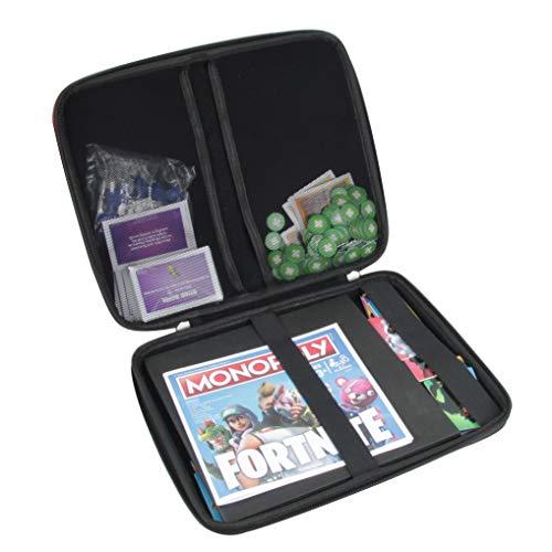 Hermitshell Hartschalen-Reisetasche für Monopoly Fortnite Edition Brettspiel inspiriert Fortnite Videospiel