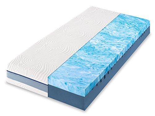 Dunlopillo Life 4300 7-Zonen Kaltschaummatratze, Größe:90 x 200 cm, Härtegrad:H3
