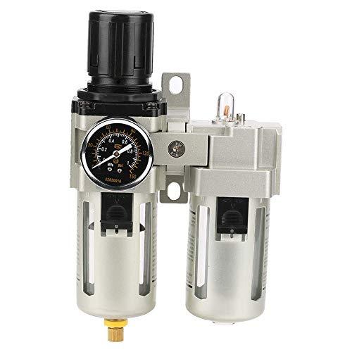 LHQ-HQ. Luftfilterregler, Sturdy Durable G1 / 2 3000L / min 25 um Air Source Gasbehandlungsanlage Filterdruckregler mit Manometer 0,05~0.85Mpa