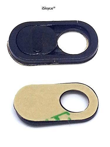 iSkyce Pequeña y discreta Webcam Anti espía para Ordenador Negro dim12 x07 mm (5 mm)