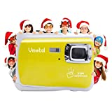 Kids Waterproof Camera, Vmotal Digital Camera for Kids 2.0 Inch TFT Display Children Kids Digital Camera (Yellow)