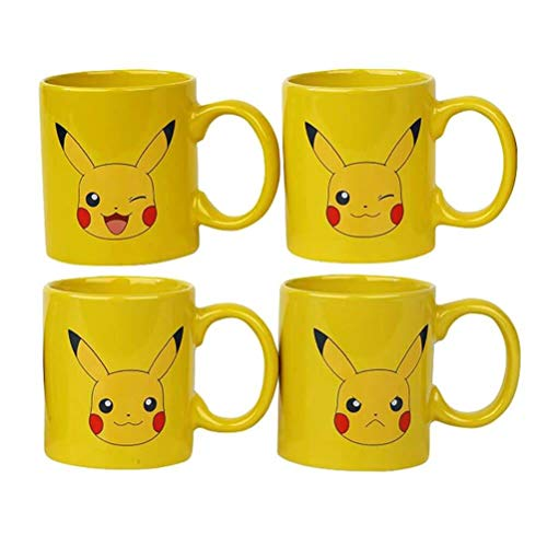GB eye Pokémon Espresso Mugs 4-Pack Pikachu Pokemon Kelche Tassen
