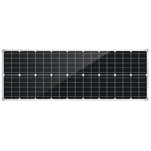 Lisansang Panel Solar Salida del Panel Solar 80W DC Barco Techo del...