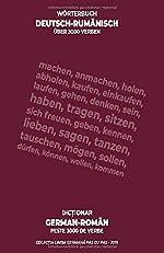 Wörterbuch deutsch-rumänisch, über 3000 Verben - Dicționar german-român, peste 3000 de verbe de Paula Sorescu