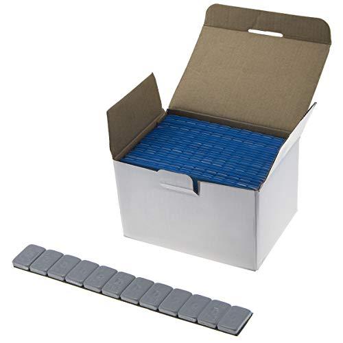Stix 100x Auswuchtgewichte 12x5g Verzinkt & Kunststoffbeschichtet Klebegewichte 6KG Kleberiegel