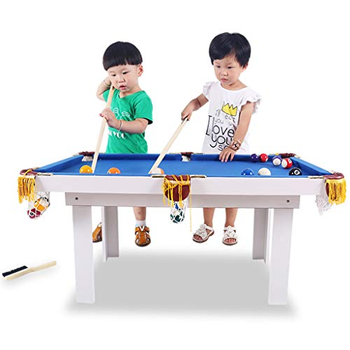 ZXQZ Billar Plegable, Juego de Mesa Familiar Snooker Junior, Mesa de Billar Portátil de Billiard Kids Tabletop Toy Mini mesas de Billar