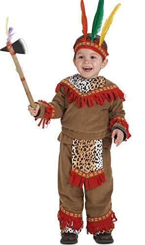 Disfraz de Bebé Indio lujo para niños de 1-3 años