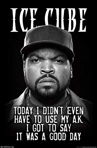 Trends International Ice Cube - Good Day Wall Poster, 22.375