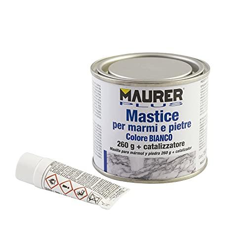 MAURER 14075035 Masilla para Marmol/Piedra 150 ml. Color Blanca