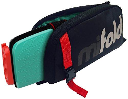 mifold MF02-BG/EU/GRY Aufbewahrungstasche für Grab-and-Go Booster, Kindersitz, grau