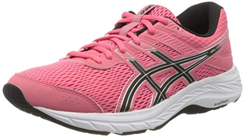 Asics Gel-Contend 6, Running Shoe Womens, Pink Cameo/Pure Silver