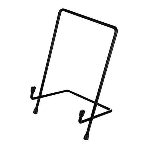 MagiDeal Metal Display Easel Stand Plate Bowl Picture Photo Display Rack - Multi, M