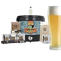 Sir Brews-a-Lot apporte son royaume de la bière à votre domicile Appréciez le riche goût de malt caramélisé de ce classique ambré dont la teneur en alcool n'est que de 5,6 % Le Roi a sélectionné 6 de ses meilleures recettes pour le brasseur débutant