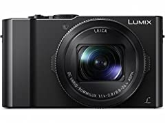 POINT-AND-SHOOT CAMERA: Large, 1-inch 20.1-megapixel MOS sensor plus 3X zoom LEICA DC VARIO-SUMMILUX lens (24-72mm) and POWER O.I.S. (Optical Image Stabilizer) delivers brighter, more colorful photos with fewer image artifacts TILTING SELFIE DISPLAY:...